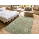 Romarin Hand-Tufted Wool Sage Area Rug Rug Size: Rectangle 8' x 10'