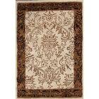 Bovill Agra Oriental Hand-Tufted Wool Beige/Ivory Area Rug