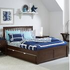 Granville Mission Platform Bed Color: Chocolate, Size: Twin