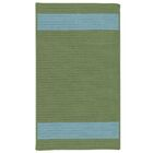 Sumrall Hand-Braided Green/Blue Indoor/Outdoor Area Rug Rug Size: Rectangle 7' x 9'