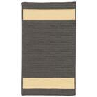 Sumrall Hand-Braided Gray/Beige Indoor/Outdoor Area Rug Rug Size: Rectangle 5' x 7'