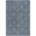Sulema Hand-Tufted Wool Blue Area Rug Rug Size: Round 6' x 6'