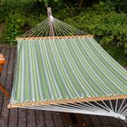 Lazy Daze Double Tree Hammock Color: Foster Surfside