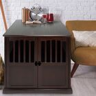 Cayer Pet Crate End Table