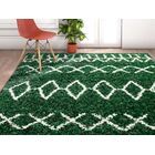 Hartin Moroccan Green Area Rug Rug Size: Rectangle 5'3