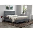 Garway Upholstered Platform Bed Color: Gray, Size: King