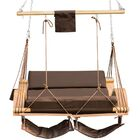 Lazy Daze Deluxe Double Chair Hammock Color: Coffee