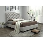 Keifer Upholstered Sleigh Bed Color: Oat, Size: Queen