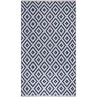 Huddleston Blue Indoor/Outdoor Area Rug Rug Size: Rectangle 5' x 8'