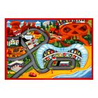 One-of-a-Kind Ladwig Cars 3 Red/Orange Area Rug