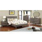 Eckles Platform Bed Size: King, Color: Gray