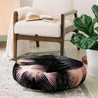 Iveta Abolina Midnight Coral Floor Pillow