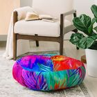 Holly Sharpe Tropical Heat Floor Pillow