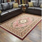 Riche Burgundy Area Rug Rug Size: Rectangle 8' x 10'5