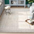 Dorothea Gray Indoor Area Rug Rug Size: Rectangle 7'10