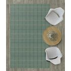 Evelin Muted Plaid Green Area Rug Rug Size: Rectangle 5' x 8'