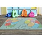 Sigourney Blue Area Rug Rug Size: Rectangle 5' x 8'