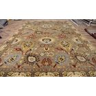 One-of-a-Kind Bovill Oriental Hand-Knotted Wool Beige/Brown Area Rug