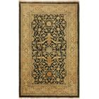 One-of-a-Kind Albermarle Antique Vintage Low-pile Hand-Knotted Wool Beige Area Rug
