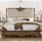 Nealy Upholstered Panel Bed Size: California King