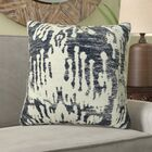 Fenland Ikat Luxury Designer Couch Pillow Size: 18