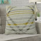 Ladner Aztec Pattern Pillow Fill Material: Cover Only - No Insert, Size: 26