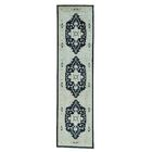 One-of-a-Kind Newcastle Peshawar with Hand-Knotted Ivory Area Rug