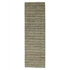 One-of-a-Kind Ferriera Modern Oriental Hand-Knotted Green/Beige Area Rug