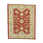 One-of-a-Kind Dilbeck Ziegler Mahal Oriental Hand-Knotted Red Area Rug