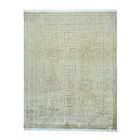 One-of-a-Kind Froelich Pak-Persian Hand-Knotted Gray Area Rug