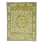 One-of-a-Kind Ensor Historical Egyptian Oriental Hand-Knotted Beige Area Rug