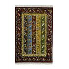 One-of-a-Kind Garces Paisley Shawl Oriental Hand-Knotted Yellow/Red Area Rug