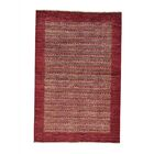 One-of-a-Kind Ferriera Peshawar Oriental Hand-Knotted Red Area Rug