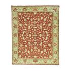 One-of-a-Kind Dilbeck Oriental Hand-Knotted Red Area Rug