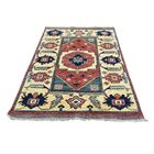 One-of-a-Kind Glen Ellyn Afghan Ersari Oriental Hand-Knotted Red Area Rug