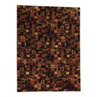 One-of-a-Kind Ferriera Lori Buft Dense Weave New Zealand Patch Hand-Knotted Wool Red/Brown Area Rug
