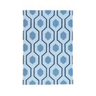 One-of-a-Kind Gailey Reversible Kilim Flat Weave Oriental Hand-Knotted Blue Area Rug