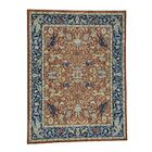 One-of-a-Kind Echavarria Peshawar Hunting Oriental Hand-Knotted Red Area Rug