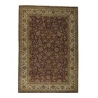 One-of-a-Kind Eckel Rajasthan Oriental Hand-Knotted Red Area Rug