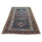 One-of-a-Kind Espada Caucasian Exc Cond Oriental Hand-Knotted Red Area Rug