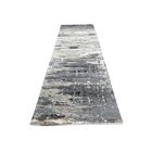 One-of-a-Kind Nason Abstract Hand-Knotted Silk Gray Area Rug