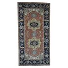 One-of-a-Kind Newcastle Re-Creation Wide Oriental Hand-Knotted Red Area Rug