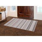 Keyla Traditional Pastel Striped Pink Area Rug Rug Size: Rectangle 7'6