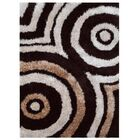 Bischof Hand-Tufted Cotton Beige/Black Area Rug Rug Size: Rectangle 4' x 6'
