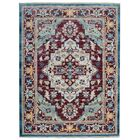 Hartshorn Red/Blue Area Rug Rug Size: Rectangle 9' x 12'