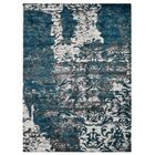 Hartshorn Blue/Gray Area Rug Rug Size: Rectangle 10' x 13'