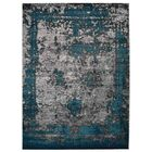 Hartshorn Blue/Gray Area Rug Rug Size: Rectangle 9' x 12'