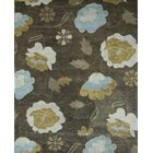 Bovill Agra Oriental Hand-Tufted Wool Gray/Green Area Rug