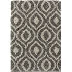 Langner Gray/Brown Area Rug Rug Size: Rectangle 7'4