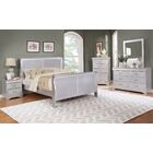 Citrana 2 Drawer Nightstand Color: Silver